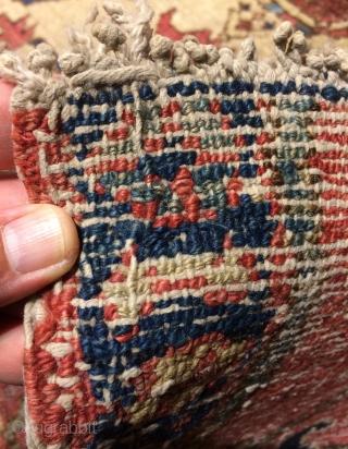 Karadag suma original half carpet. Size 330x113cm