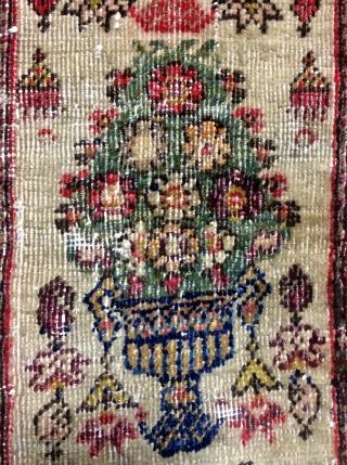 Rare a Ferahan small carpet size 73x79cm