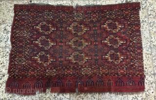 Turkemen chuval one side cut size 103x153cm
