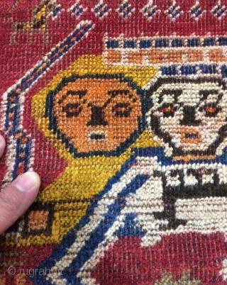 Qhasgai carpet size 180x113cm