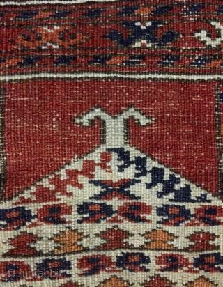 Rare Tekke prayer carpet size 125x95cm