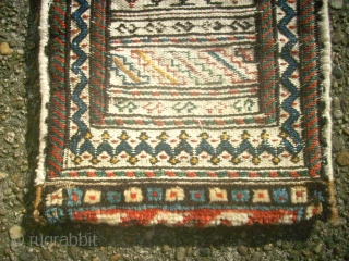 Old special bag, i think Fars. Size: 22 x 46 cm. Very fine work.