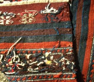 Top anatolian Güney flatweave. Size: 59 x 86 cm. Very good condition.