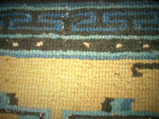 Old Chinese small rug. Size: 62 x 82 cm. Very good condition.