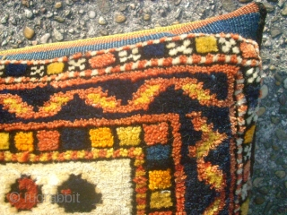 Old and nice cushion. Nomade bag. Size: 30 x 40 cm. High quality wool.
