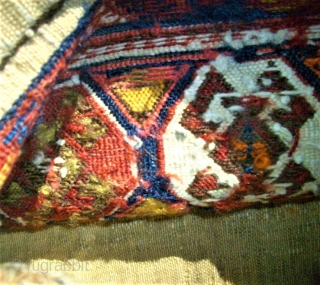 antique Sha-Sawan bag. Size: 42 x 108 cm. Used.