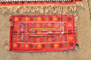 Old Bosnian sharkoy kilim with motif mihrab, dimension 1,5x0,7m ...