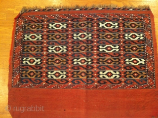 Antique Turkomen  Youmut Chuval size 3'-7''x 2'-9''