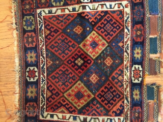 Kurdish Jaff bag face  North-West Persian