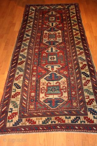Caucasian Karatchof last qrt 19th century  Size: 3'- 4'' x 7'-5''