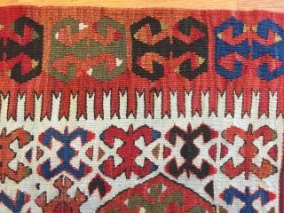 Anatolian Kelim :Size 5'-4'' x 10'-1''