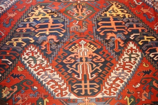 Dragon Soumak last qrt 19 century Size :8'-5''x13'-2''
