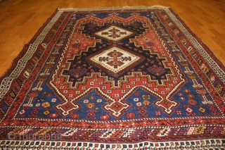 An Afshar rug Southwest Persia late 19th century