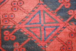 Ersari Main Carpet (Middle Amu Darya) late 19th century .size(9'-6'' x 7'-6'')