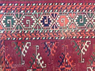 "Turkmen Yomud 4'-2"" x 6'-4"""