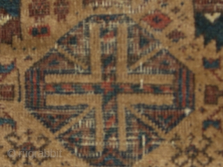 Antique Balouch extra fine weave.