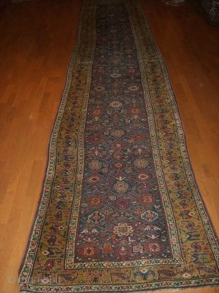 Antique 19 Century  Northwest Pesian Runner