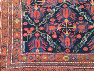 Old Afshari vibrant colors 4-3x6