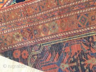 Old Afshari vibrant colors 4-3x6