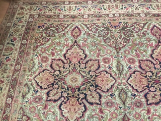 Antique kermanshah 9-4x12-2 good condition