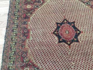 Very old khorasan 3x5 rug very unusual design