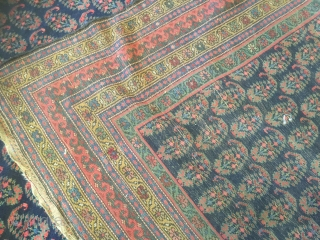 5-8x21-6 excellent condition antique Kurdish Rug