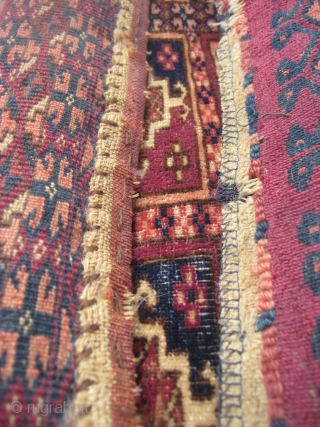 Turkoman bag face (86cm X 32cm).