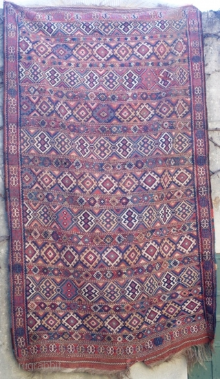 Kurdish flatweave 19th c. (290cm x 170cm).