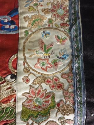 Chinese robe (95x164cm).