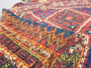 Uzbek tartari kilim bag face(95X87cm).