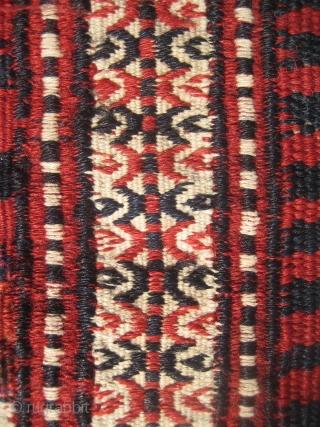 Turkoman Yomud flatweave (236cmX111cm / 7,74'x3,64'),