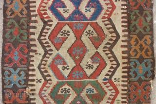 East anatolian Malatya kilim (115cm X 84cm).