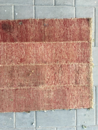 "#2072 Tibet rug. Rare tsuktruk saddle cover in very good condition.very fine woven. Size 158*67cm(109*26"")"