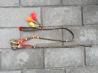 #1629 Tibet handicraft, It is the daily utensils of Tibetan nomads .about long 150cm.