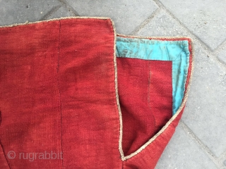 1802# Tibet Lama clothes, handicraft wool .good age and quality.