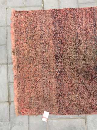 Tibentan carpet,  rare veins and color, Buddha's warrior attendant's stick veins in the middle.  very good age and condition, complete no any repair. Wool warp and weft, very tightly woven,  ...
