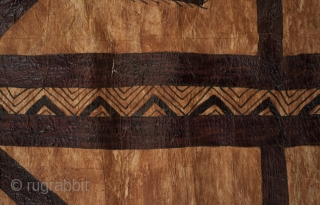 Tapa Cloth Fragment,