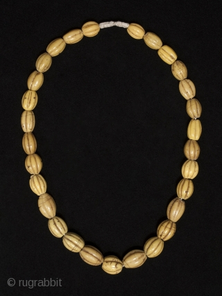Yellow melon beads,