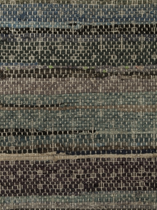 "Blanket, Miao ethnic group, Guizhou Province, Southwest China. 71"" (22.8 cm) high by 45"" (7.6 cm) wide. Early 20th century.