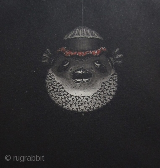 Hiroto Norikane Print of Puffer Fish Lanterns