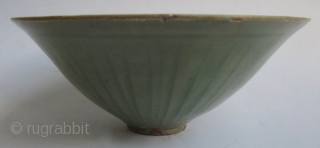 Antique Chinese Small Celadon Bowl