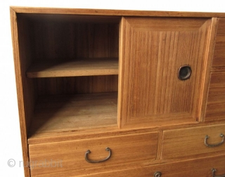 Antique Japanese Kiri Ko Tansu