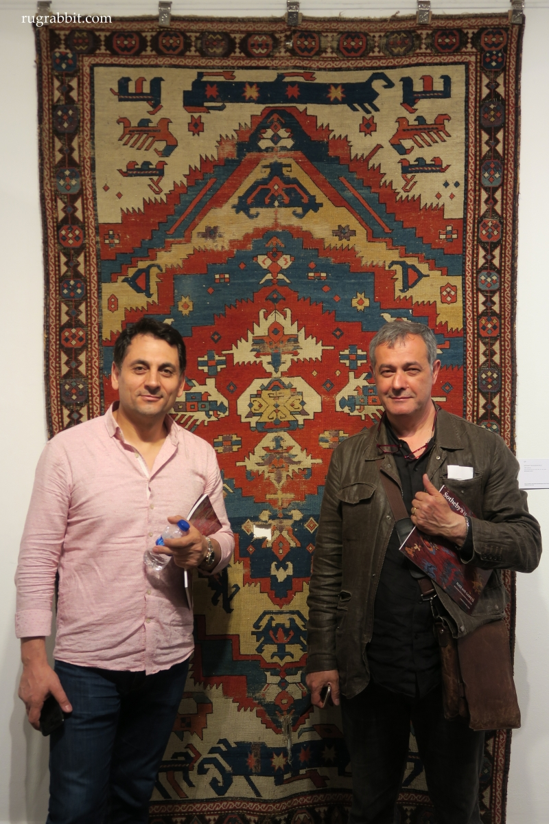 Rugs from the Christopher Alexander Collection at Sotheby's: Anatolian rug dealers. Adnan Aydin and Huseyin Kaplan