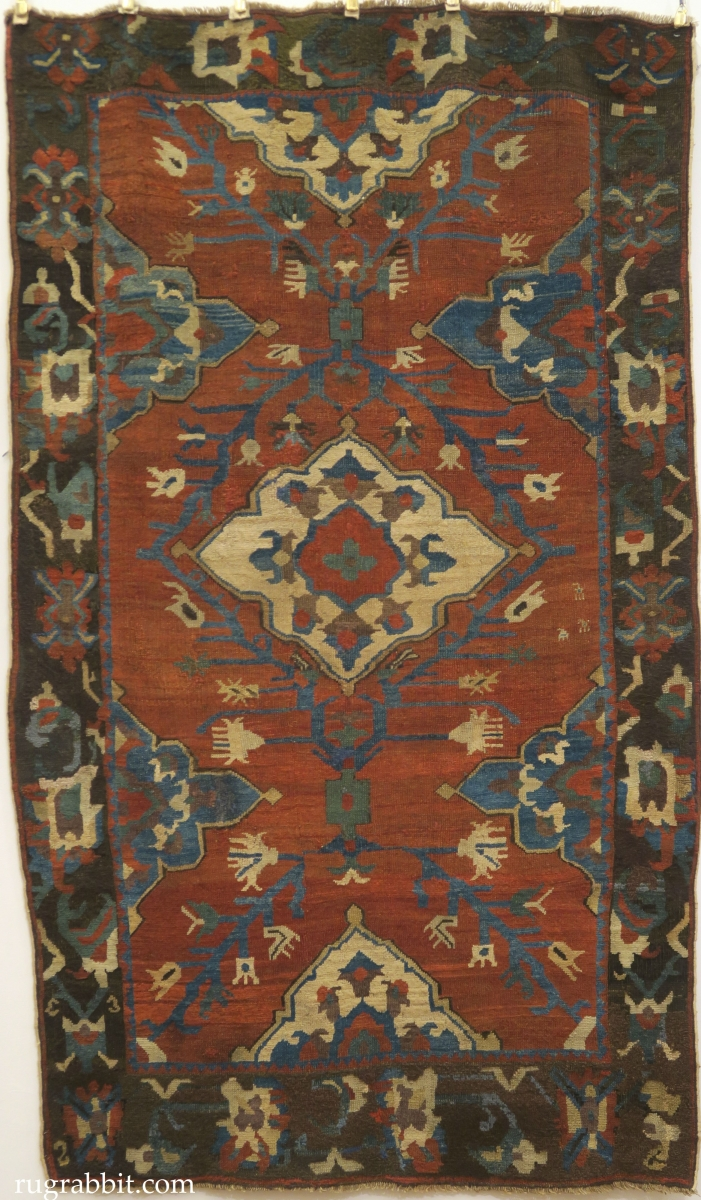 Rugs from the Christopher Alexander Collection at Sotheby's: Karapinar rug