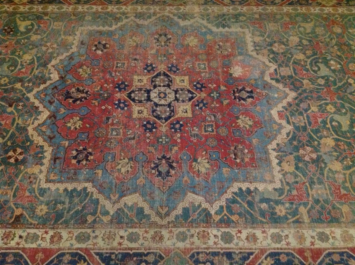 Northwest Persian Safavid Medallion Carpet, Gulbenkian Museum