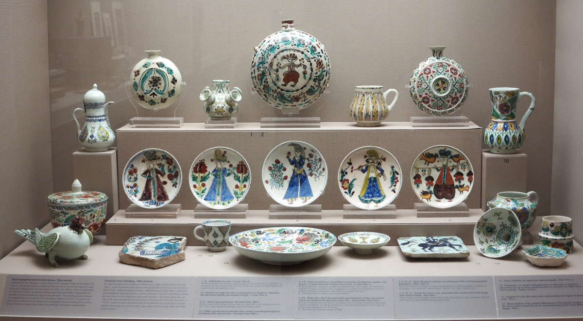 Kuthaya Ceramics, Benaki Museum of Islamic Art, athens