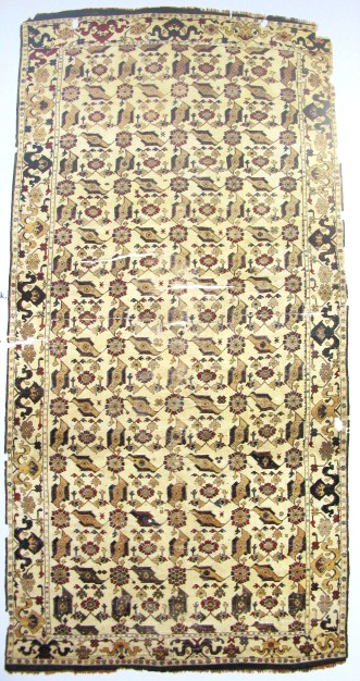 TIEM Istanbul Carpets Ushak bird