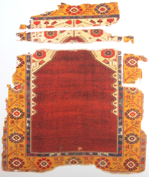 TIEM Istanbul Carpets Ladik prayer rug