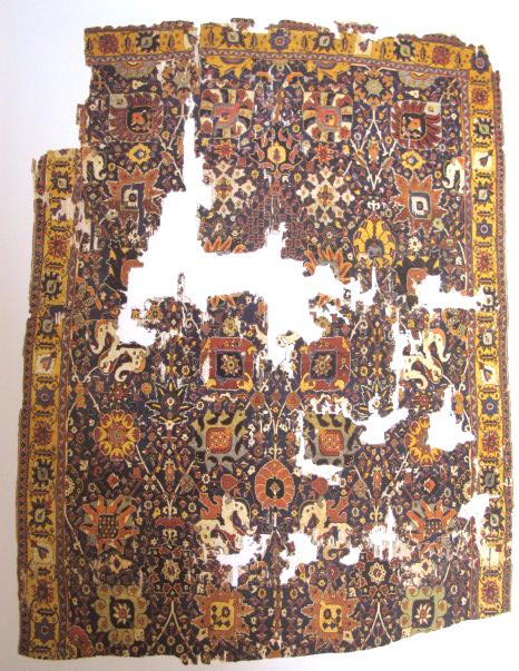 TIEM Istanbul Carpets Kerman Vase