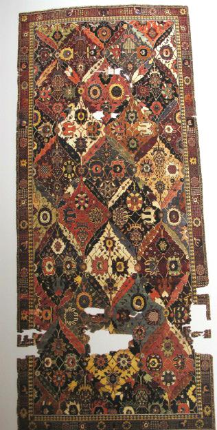 TIEM Istanbul Carpets Vase cArpet